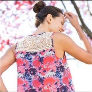 Spring Mikoh Crochet Strap top.